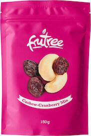 Mix sušené ovocia a orechov s čistou, prírodnou chuťou a zachovaným živinami   Frutree