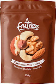 Jadrá orechov s čistou, prírodnou chuťou a zachovaným živinami   Frutree